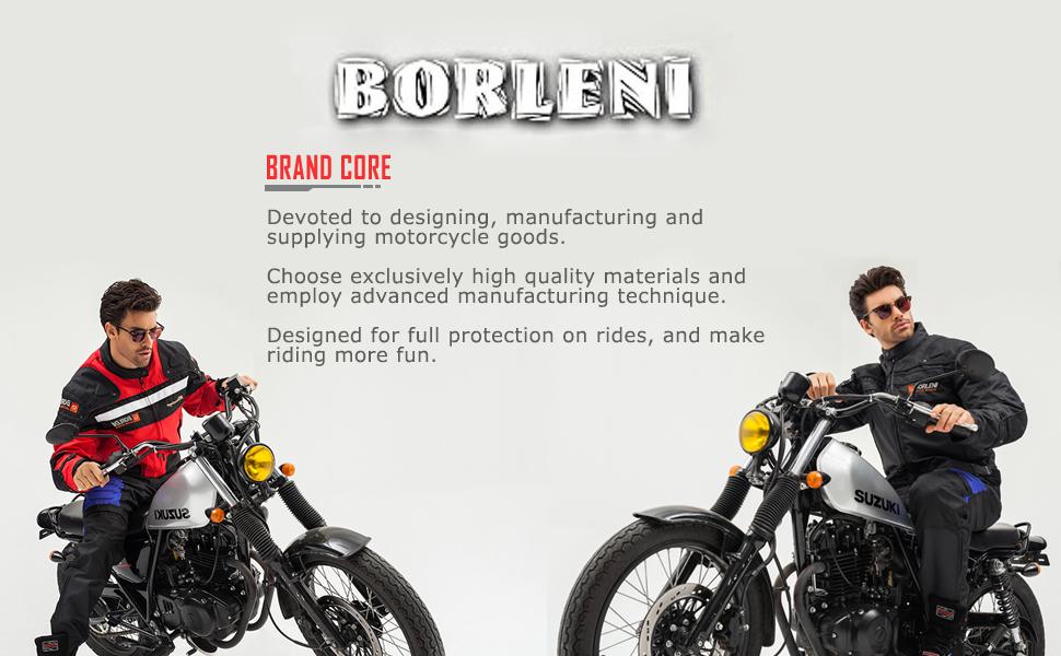 Chaqueta de moto BORLENI