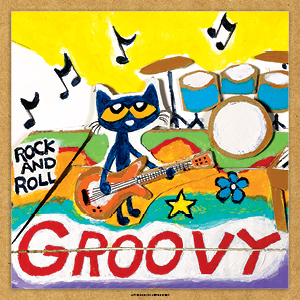 Pete the cat, groovy, music
