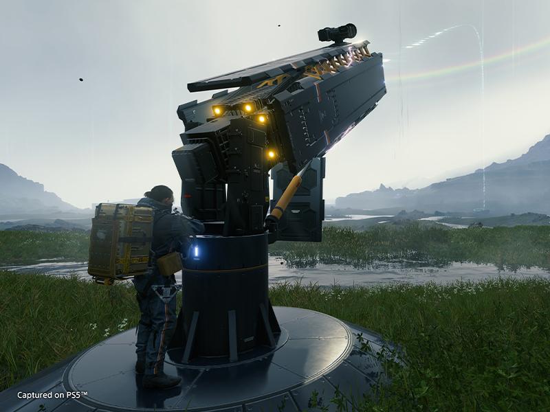 Screenshot: surveying area