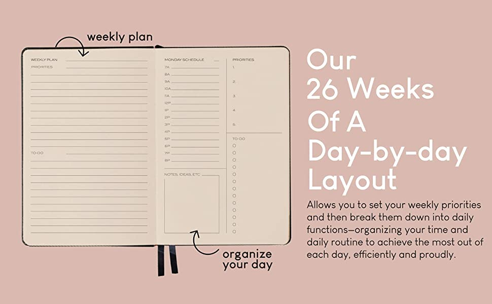 daily planner 2021 planner yearly planner weekly planner monthly planner notebook