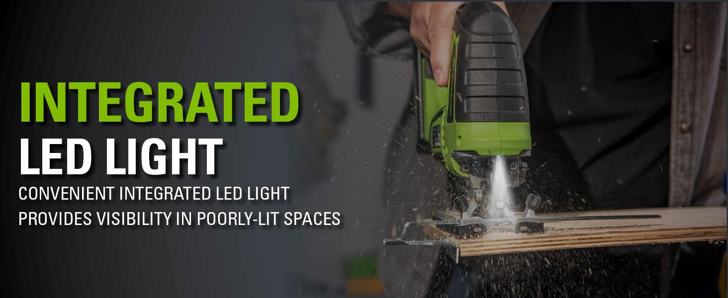 Integrated Led Light