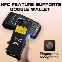 B2021 NFC feature,Google Wallet, Facial recognition fingerprint recognition