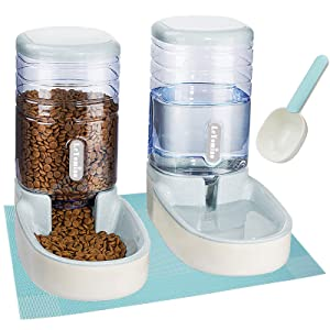 Dispenser and Waterer Set with Gift