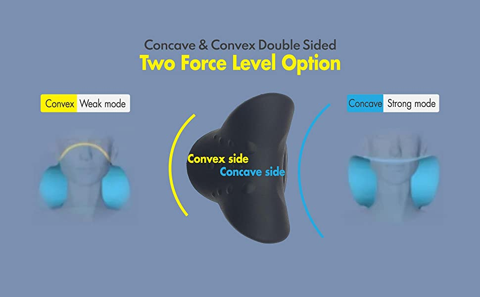 Concave & Convex Double Sided - Two Force Level Option