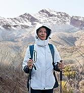Wantdo Giacca da Sci Montagna Invernale Parka da Neve Caldo con Cappuccio Cappotto da Snowboard G...