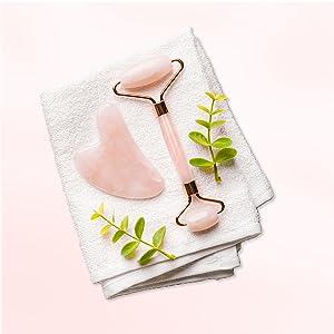 facial skin care products beauty creations gua sha massage tool face ice roller qua shua gua shua