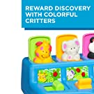 Playskool Poppin' Pals Pop-up Activity Toy for Babies and Toddlers Ages 9 Months and Up