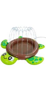 Inflatable Turtle Baby Wading Pool