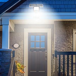 solar porch light