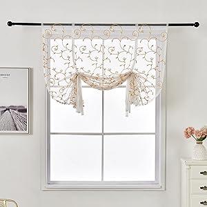 Adjustable Balloon Curtain Living Room Shade