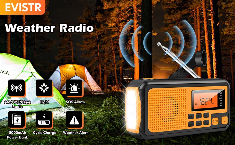 EVISTR Weather Radio