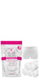 Postpartum Underwear disposable washable mesh panties