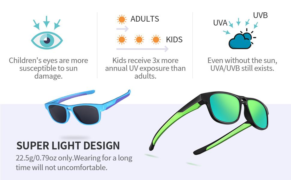 polarized sunglasses for kids girls