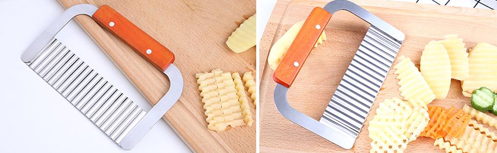 wavy cutters cutting
