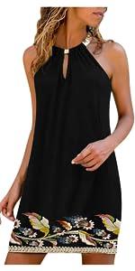 Print Sleeveless Dress