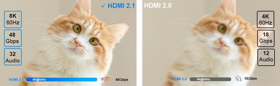 8K HDMI 2.1 Cable