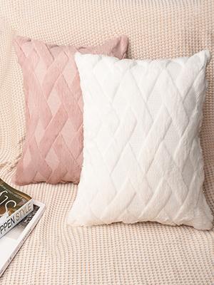 Soft Plush Wool Velvet Decorative Throw Pillow Covers