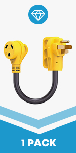 50A Male to 30A Female Adapter