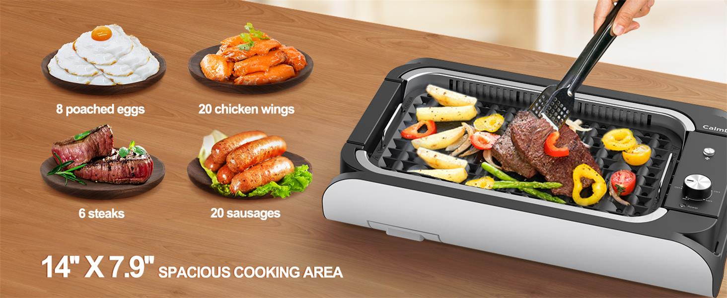 Large Cooking Surface
