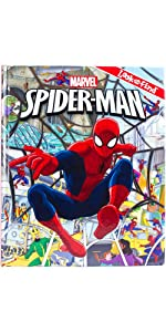 Marvel Spider-Man Look and Find Activity Book