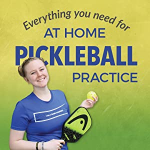 at home pickleball practice