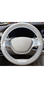 Clear Steering Wheel Cover