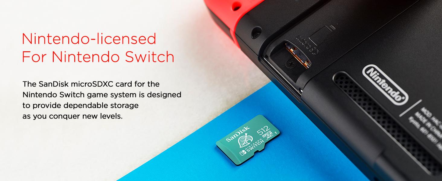 mSD, microSDXC, reliable storage