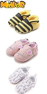 baby girl boy daycare shoes cute animals sneaker keep warm winter sneaker