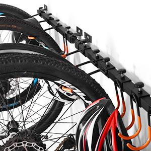 Soporte Bicicleta Suspensión,Colgador de Bici de pared,Bicicleta Soportes Pared