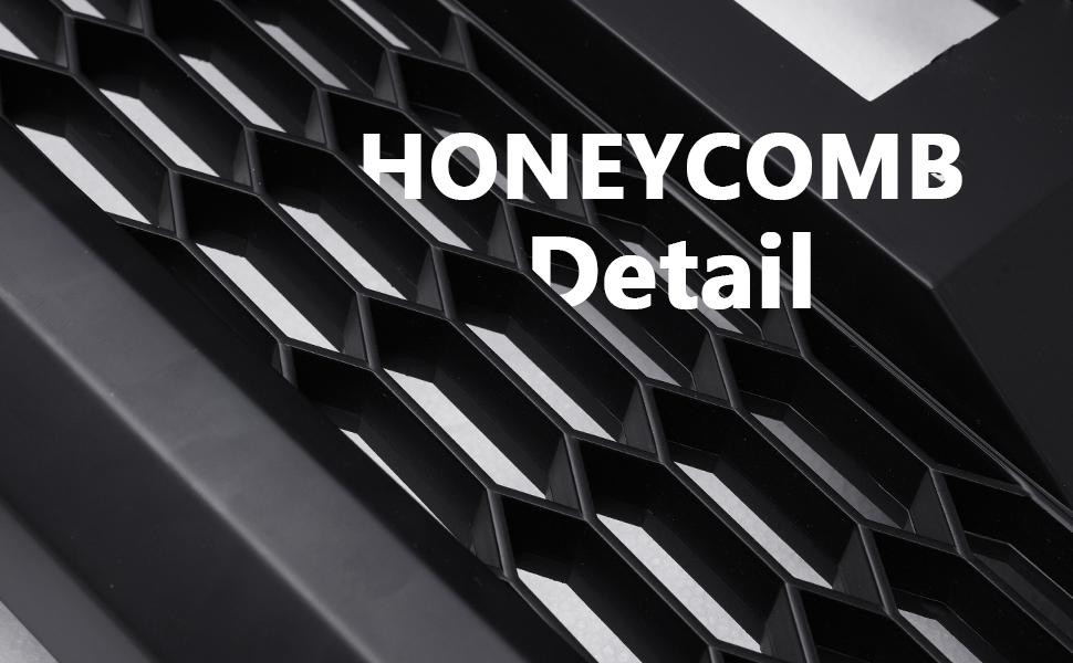 honeycomb detail