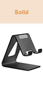 Aluminum Cell Phone Stand Phone Holder for Desk