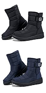 women boots winter boots snow boots waterproof comfortable shoes for women ankle boots