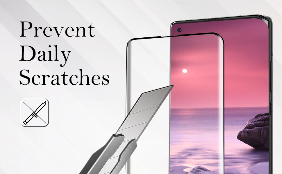 Moto Edge Plus Tempered Glass Screen Protector