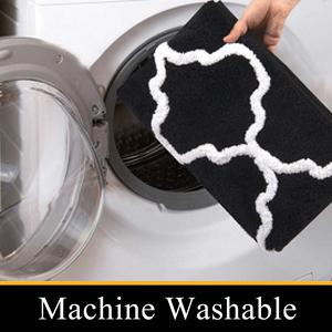 washable bath mats