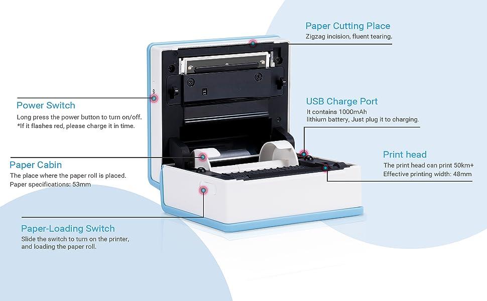 mini sticker printer