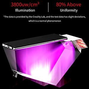 Eigenentwickelte integrale Lichtquelle mit hoher Präzision