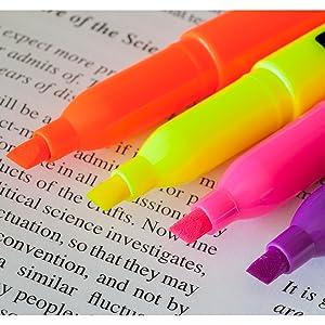 promarx highlighter chisel tip school work study