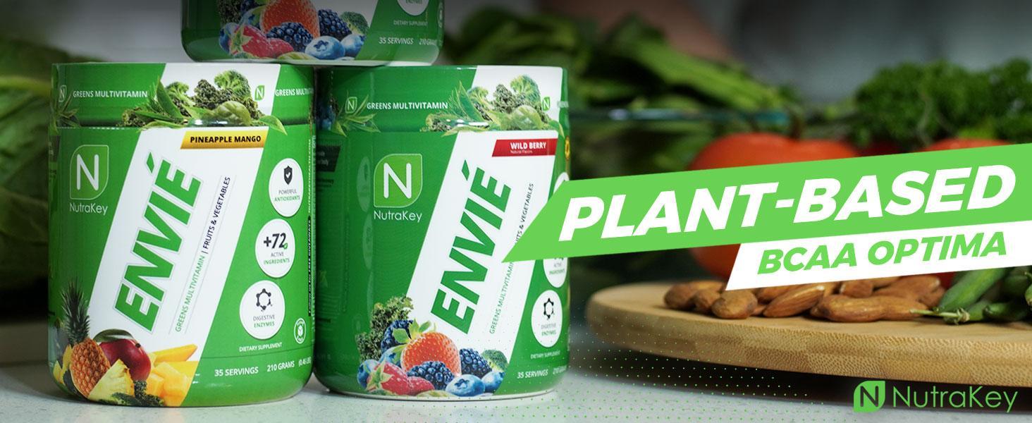 Plant Based BCAA Optima