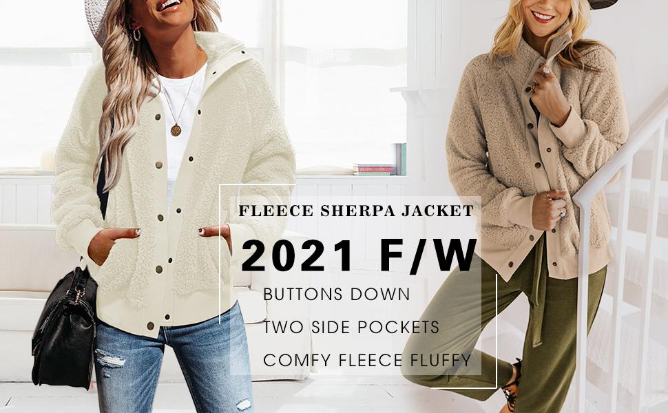 Fleece Sherpa Jacket