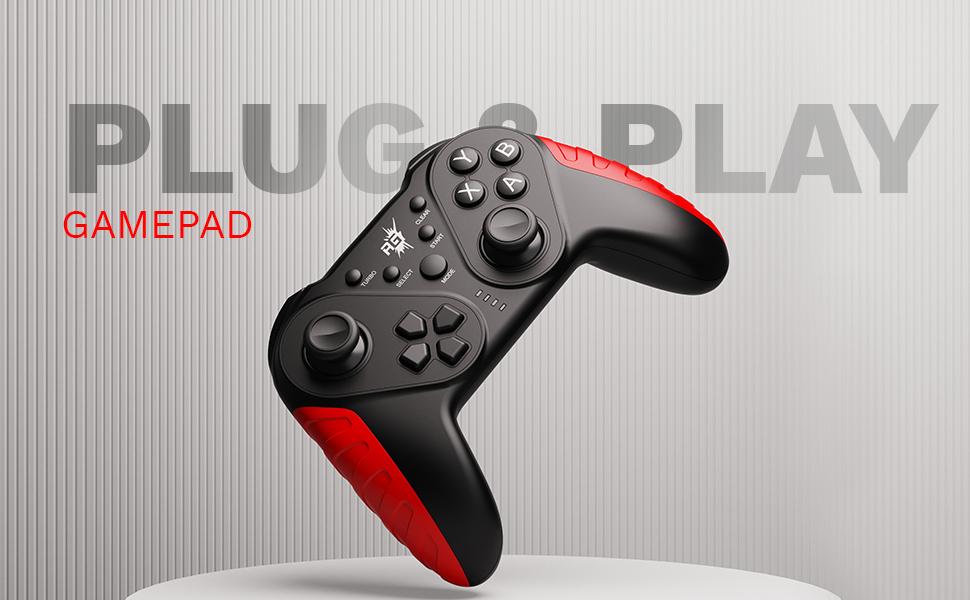 Redgear gaming gamepad PC windows