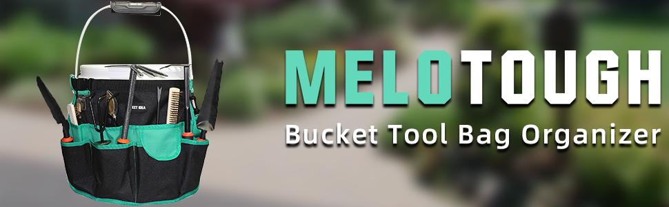 Bucket Tool Organizer for Garden Tools