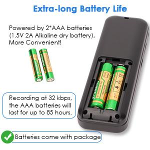 Packaged battery
