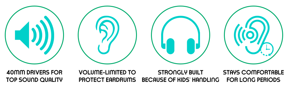 headphones for toddlers boys and girls