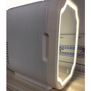 Portable LED Mirror Makeup Fridge