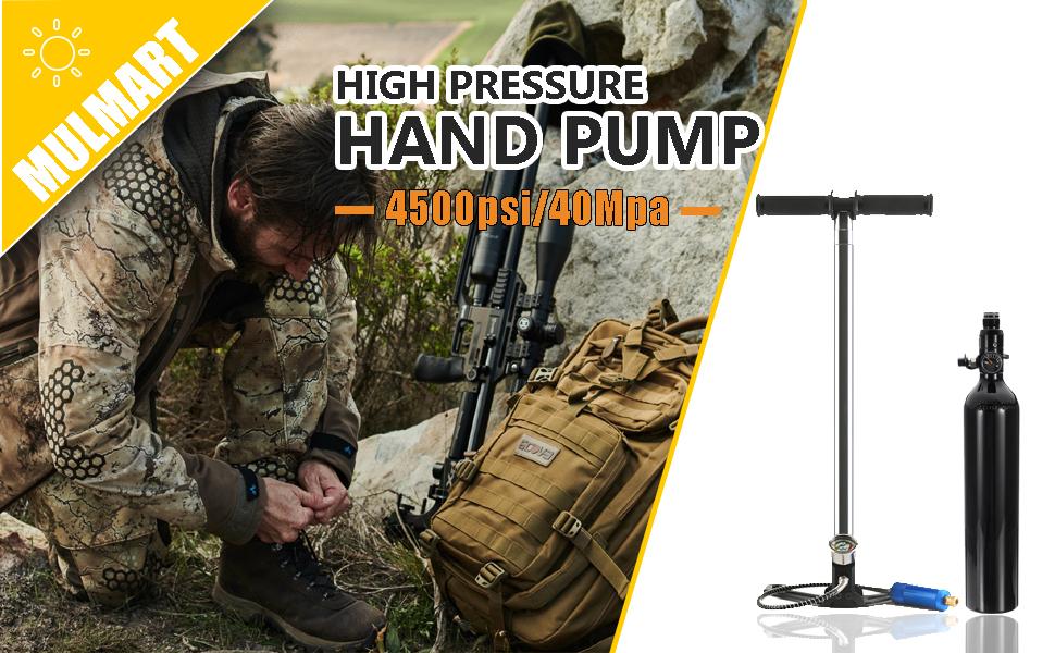 High Pressure Hand Pump-4500PSI/40MPA