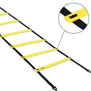 yellow speed ladder