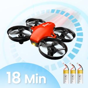 18 mins battery life