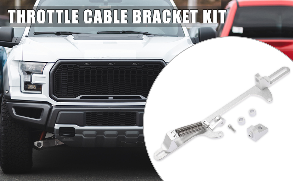 Car Adjustable Throttle Cable Bracket Kit for 4500 Series