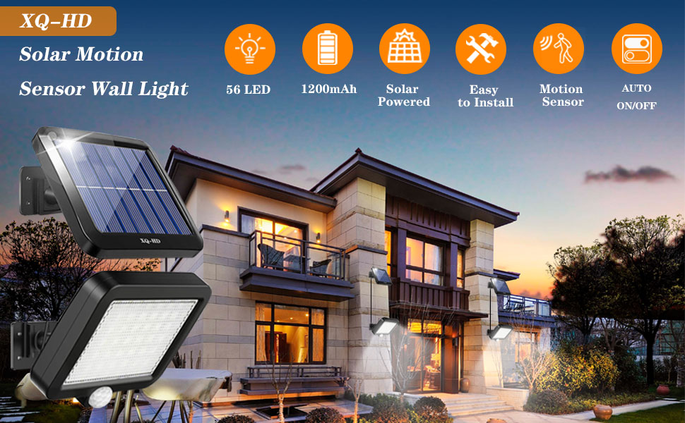 solar sensor wall light ,solar sensor light, solar wall lights, led solar motion light