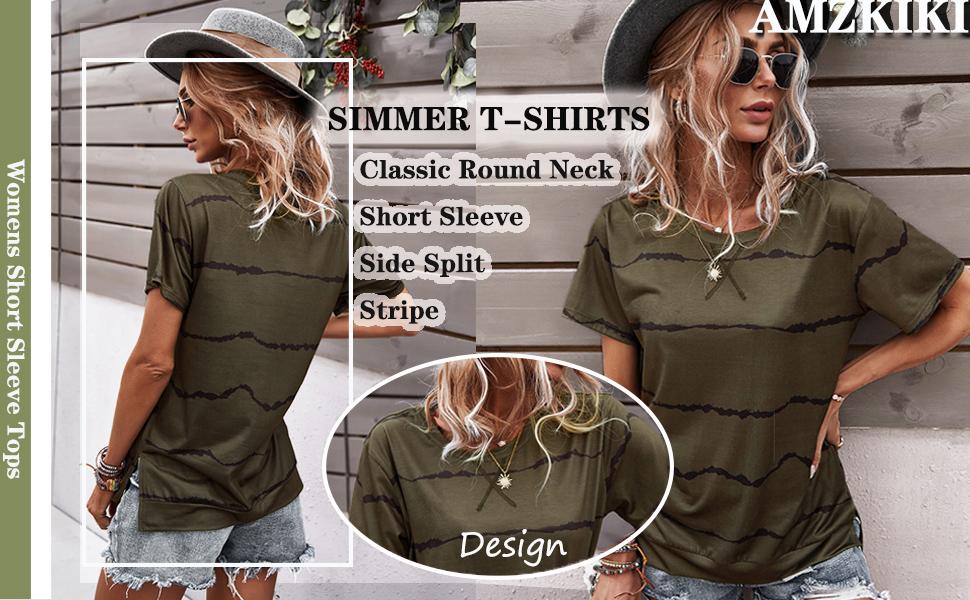 womens short sleeve tops